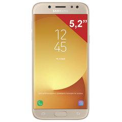 "Смартфон SAMSUNG Galaxy J5, 2 SIM, 5,2"", 4G (LTE), 13/<wbr/>13 Мп, 16 ГБ, microSD, золотой, металл и стекло (2017)"