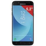 "Смартфон SAMSUNG Galaxy J5, 2 SIM, 5,2"", 4G (LTE), 13/<wbr/>13 Мп, 16 ГБ, microSD, черный, металл и стекло (2017)"