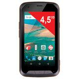 "Смартфон SENSEIT R450, SIM, 4,5"", 4G, 2/<wbr/>8 Мп, 8 ГБ, MicroSD, влагозащищенный, оранжевый, пластик"