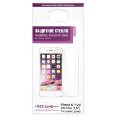 Защитное стекло для iPhone 6 Plus/<wbr/>6S Plus, RED LINE, УТ000005755