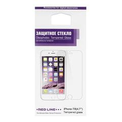 Защитное стекло для iPhone 7/<wbr/>8, RED LINE, УТ000009670