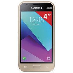 "Смартфон SAMSUNG Galaxy J1 mini Prime, 2 SIM, 4"", 4G (LTE), 0,3/<wbr/>5 Мп, 8 ГБ, microSD, золотой, металл"