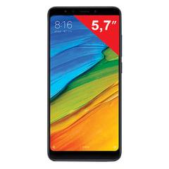 """Смартфон XIAOMI Redmi 5, 2 SIM, 5,7"""", 4G, 5/<wbr/>13 Мп, 16 Гб, черный, металл и стекло"""