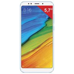 "Смартфон XIAOMI Redmi 5, 2 SIM, 5,7"", 4G, 5/<wbr/>13 Мп, 16 Гб, голубой, металл и стекло"
