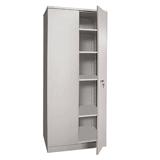 Шкаф металлический офисный НАДЕЖДА «ШМС-4», 1850×756×452 мм, разборный, 2 места