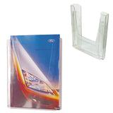Подставка для рекламных материалов настенная, для листов А4, 290×215×32 мм