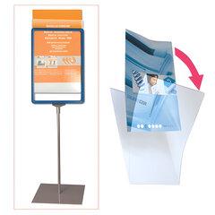 Экран защитный для рамки POS А5, размер 210×148,5 мм (код 290258, 290259, 290260, 290261), прозрачный