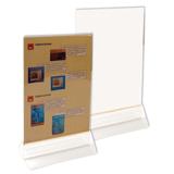 Подставка для рекламных материалов настольная, 2-сторонняя, А5, 148×210 мм