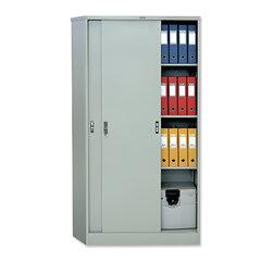 Шкаф металлический офисный купе ПРАКТИК «АМТ-1891», 1830×915×458 мм, 48 кг, 3 полки, разборный