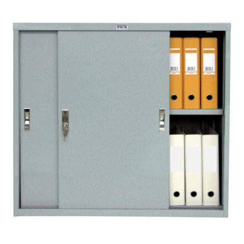 Шкаф-антресоль металлический офисный КУПЕ NOBILIS «AMT-0891» (для шкафа «AMT-1891» код 290357)