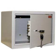Сейф офисный (мебельный) облегченной конструкции AIKO «Т23», 230×300×250 мм, 5,5 кг, ключевой замок, крепление к стене, полу