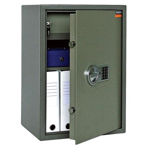 """Сейф офисный VALBERG """"ASM-63T EL"""", 630х440х355 мм, 38 кг, электронный замок, трейзер"""