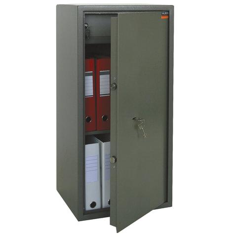 """Сейф офисный VALBERG """"ASM-90T"""", 900х440х355 мм, 50 кг, ключевой замок, крепление к стене, полу"""