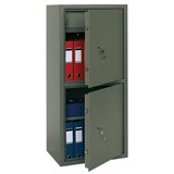 Сейф офисный VALBERG «ASM-120Т/<wbr/>2», 1200×550×390 мм, 96 кг, 2 отделения, ключевой замок