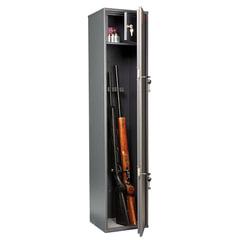 Сейф оружейный AIKO «Чирок 1328/<wbr/>Сокол», 1385×300×285 мм, 23 кг, 2 ключевых замка, трейзер