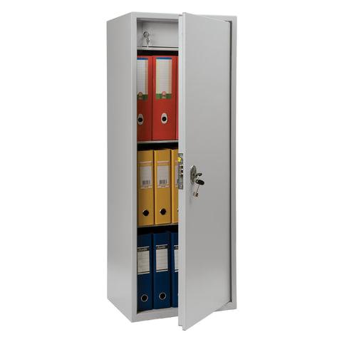 Шкаф металлический для документов ПРАКТИК «SL-125Т», 1252×460×340 мм, 27 кг, сварной