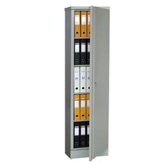 Шкаф металлический офисный ПРАКТИК «AM-1845», 1830×472×458 мм, 30 кг, разборный