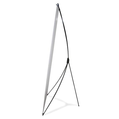 Стенд мобильный для баннера «X-banner А», размер рекламного поля 600×1600 мм, углепластик