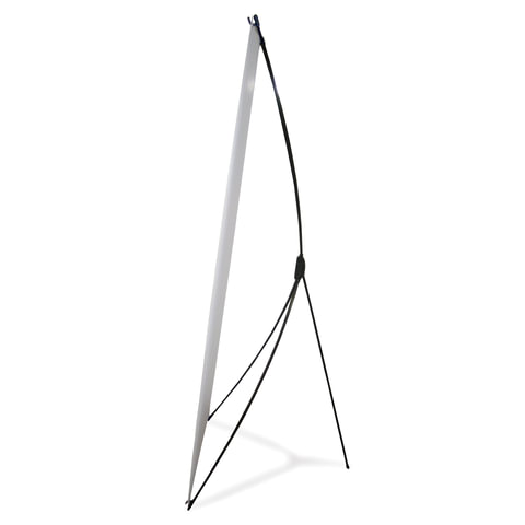 Стенд мобильный для баннера, «X-banner А2», размер рекламного поля 800×2000 мм, углепластик