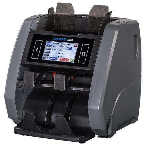 Счетчик-сортировщик банкнот DORS 800 RUB, 1500 банкнот/<wbr/>мин, ИК-, УФ-, магнитная детекция