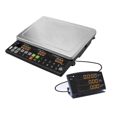 Весы торговые МАССА-К МК-15.2-Т21 (0,04-15 кг), дискретность 5 г, платформа 340x245 мм, переносной дисплей