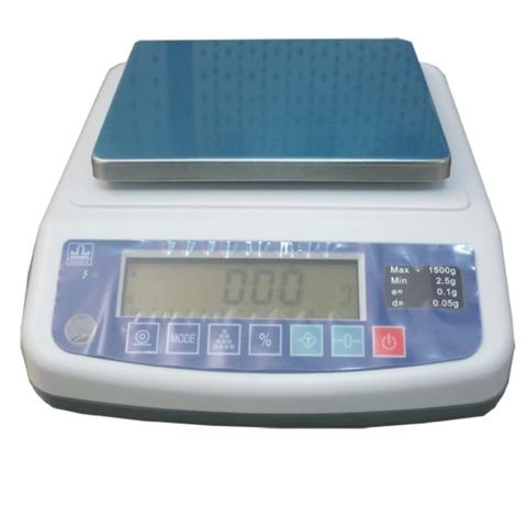 Весы лабораторные МАССА-К ВК-1500 (2,5-1500 г), дискретность 0,02 г, платформа 136 х162 мм