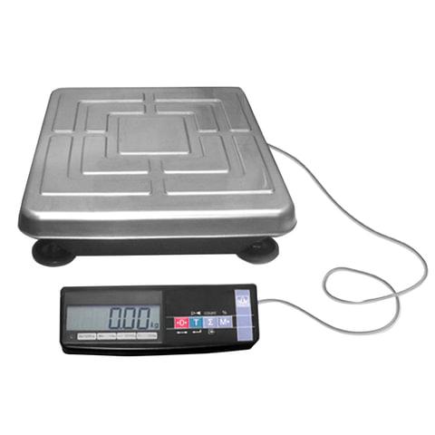 Весы напольные МАССА-К ТВ-S-200.2-А1 (0,4-200 кг), дискретность 50 г, платформа 510×400 мм, переносной дисплей