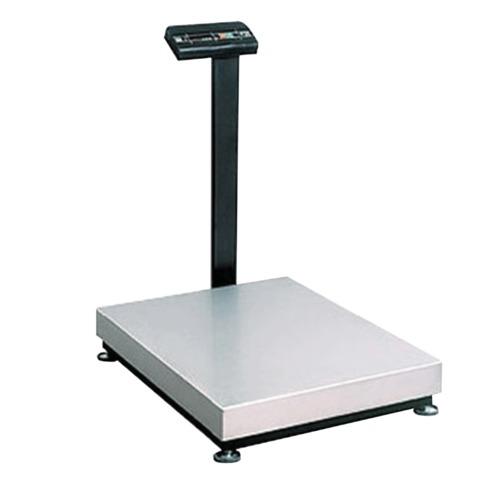 Весы напольные МАССА-К ТВ-M-150.2-А3 (0,4-150 кг), дискретность 50 г, платформа 800×600 мм, со стойкой