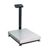 Весы напольные МАССА-К ТВ-M-300.2-А3 (1-300 кг), дискретность 100 г, платформа 800×600 мм, со стойкой
