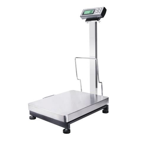 Весы напольные MERCURY M-ER 333AFL-300.50 (4-300 кг), дискретность 50 г, платформа 380х500 мм, со стойкой