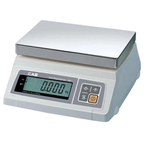 Весы фасовочные CAS SW-20 (0,2-20 кг), дискретность 10 г, платформа 241×192 мм, без стойки
