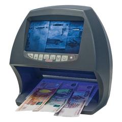 Детектор банкнот DOCASH BIG D, ЖК-дисплей 18 см, просмотровый, ИК, УФ, антистокс, спецэлемент «М»
