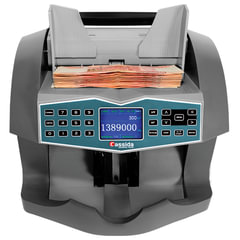 Счетчик-сортировщик банкнот CASSIDA ADVANTEC 75 VALUE, 1800 банкнот/<wbr/>мин., ИК-, УФ-, магнитная детекция, фасовка