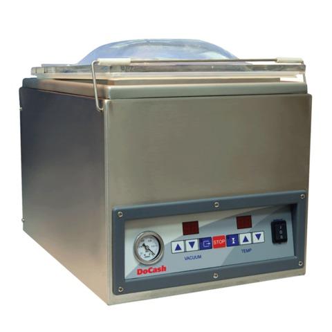 Упаковщик банкнот DOCASH 2240, вакуумный, 4 пакета/<wbr/>мин, насос 6 м3/<wbr/>час, сварной шов 270 мм
