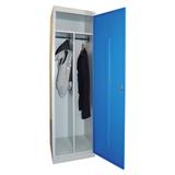 Шкаф металлический для одежды «ШРЭК-21-530», 2 отделения, 1850×530×500 мм, разборный