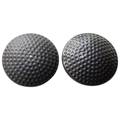 Датчики противокражные, радиочастотные, комплект 500 шт., «Golf Tag», 64 мм, 8,2 МГц, усиленнный замок, черные