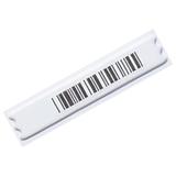 Этикетки противокражные акустомагнитные DR, комплект 5000 шт., 10×44 мм, ложный штрихкод, белые