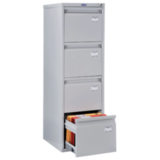Шкаф картотечный ПРАКТИК «A-44» 1305×408×485 мм, 4 ящика для 168 подвесных папок, без папок