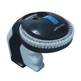 Принтер этикеток DYMO Omega, ленточный, механический, лента 9 мм, клавиатура — кириллица, блистер