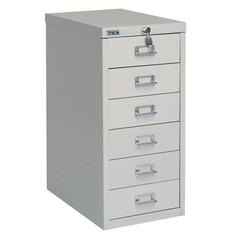 Шкаф металлический для документов ПРАКТИК «MDC-A4/<wbr/>650/<wbr/>6», 6 ящиков, 650×277×405 мм, собранный