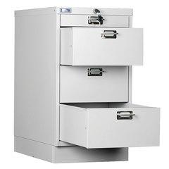 Шкаф металлический для документов ПРАКТИК «MDC-A3/<wbr/>650/<wbr/>4», 4 ящика, 650×347×546 мм, собранный