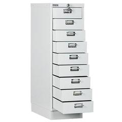 Шкаф металлический для документов ПРАКТИК «MDC-A3/<wbr/>910/<wbr/>9», 9 ящиков, 910×347×546 мм, собранный