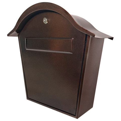 """Ящик почтовый металлический наружный """"ПЯ-1Н"""", навесной, ключевой замок, 390х370х140 мм"""