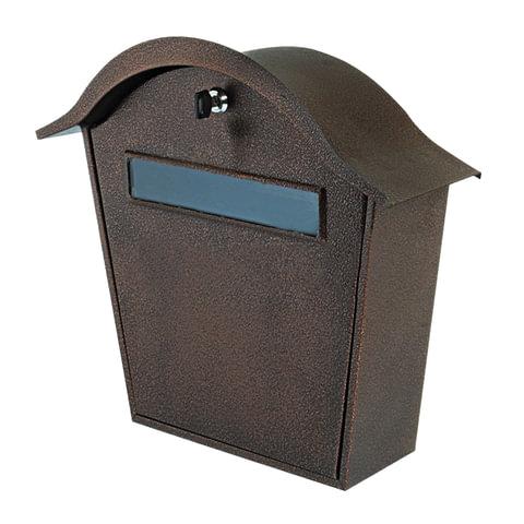 """Ящик почтовый металлический внутренний """"ПЯ-1В"""", навесной, ключевой замок, 390х370х140 мм"""