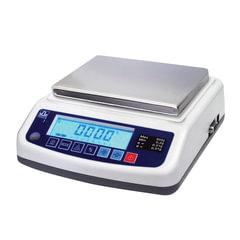 Весы лабораторные МАССА-К ВК-3000.1 (5-3000 г), дискретность 0,1 г, платформа 136×162 мм
