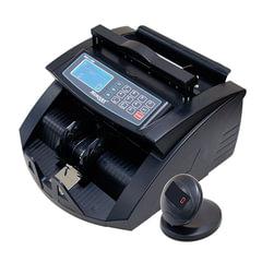 Счетчик банкнот MERCURY C-2000 BLACK, 1000 банкнот/<wbr/>мин., ИК-,УФ- детекция, фасовка, черный