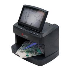 Детектор банкнот CASSIDA 2300 DA, ЖК-дисплей 18 см, просмотровый, ИК, УФ, антистокс, спецэлемент «М»