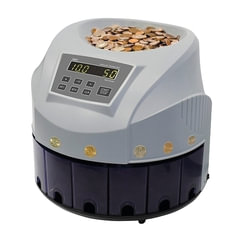 Счетчик-сортировщик монет PRO CS 80R, 300 монет/<wbr/>мин., загрузка 1600 монет, 8 приемных лотков