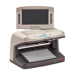 Детектор банкнот DORS 1300 M2, ЖК-дисплей 18 см, просмотровый, ИК, УФ, АНТИСТОКС, спецэлемент «М»