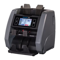 Счетчик-сортировщик банкнот DORS 800 RUB, USD, EUR, 1500 банкнот/<wbr/>мин., ИК-, УФ-, магнитная- детекция